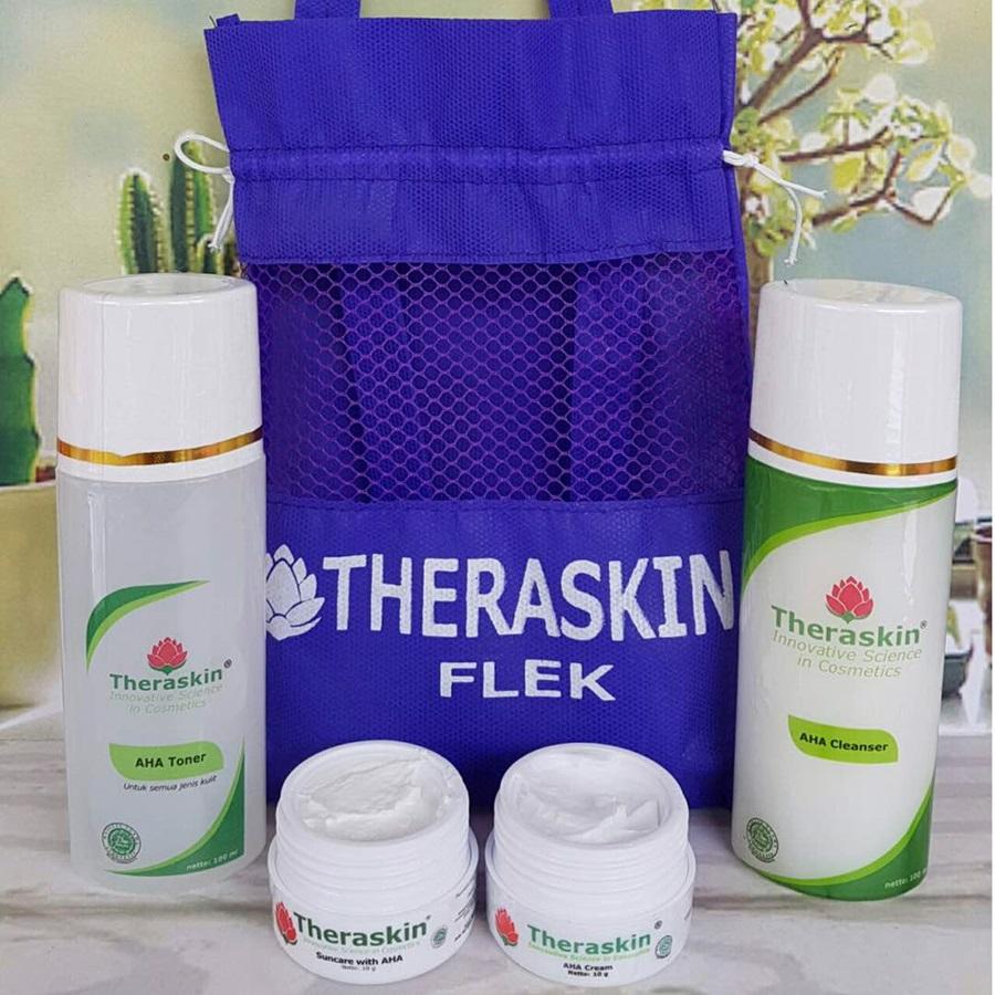 Paket Theraskin Cream Flek Bpom