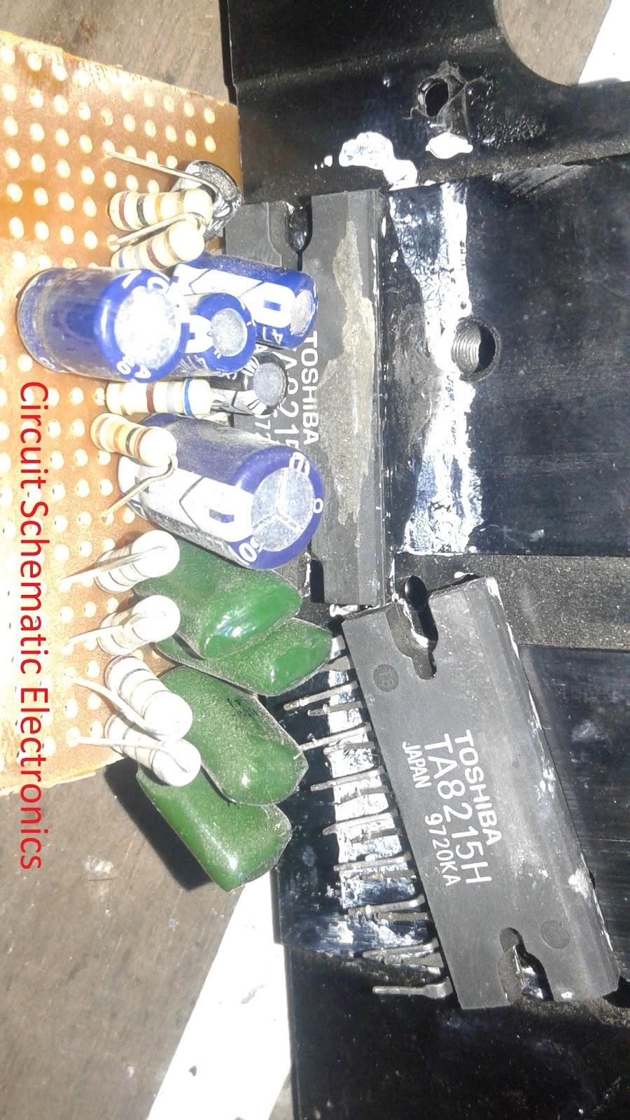 4x15w Car Amplifier Circuit Power 20w Audio Design