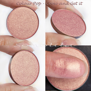 Come and get it  - Pressed Eyeshadow Colour Pop