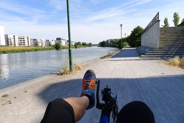 Tour de la Belgique en vélo, Bords de la Deule
