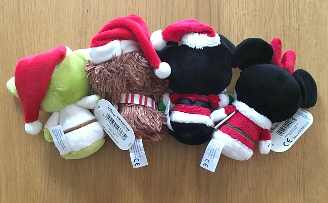 back-view-of-Hallmark-itty-bittys-Christmas-chewbacca-mickey-mouse-minnie-mouse-and-yoda-from-disney-and-star-wars