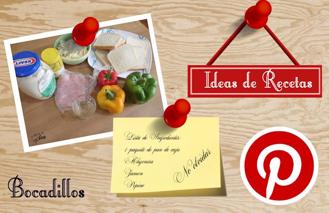 Ideas para preparar bocadilos - Especial Pinterest