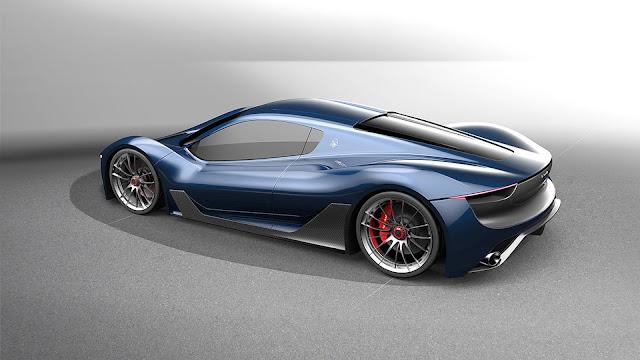 Maserati MC-63 Hypercar - Diseño exterior
