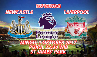 Prediksi Newcastle United vs Liverpool 1 Oktober 2017