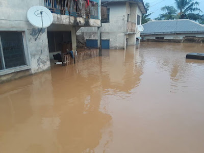 OAU Students Trapped Following Heavy Downpour (Photos)