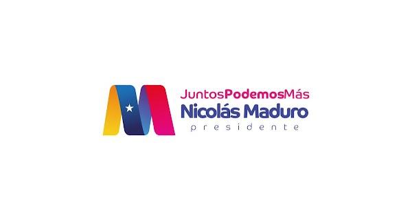 En exclusiva! Presidente Maduro presentó su logo para la campaña electoral