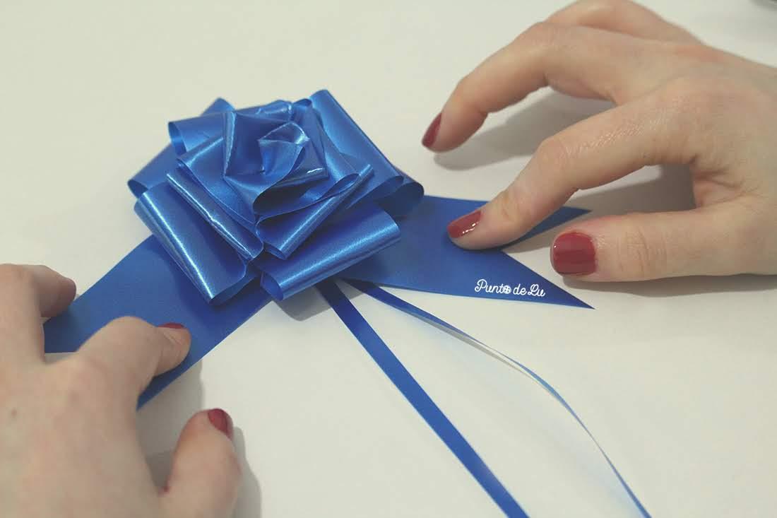DIY Moña bonita para triunfar con la presentación de tus regalos