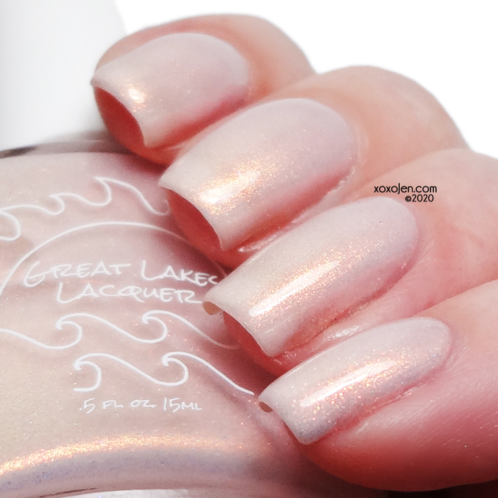 xoxoJen's swatch of Great Lakes Lacquer Courage