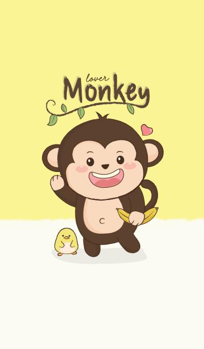 Monkey lover.