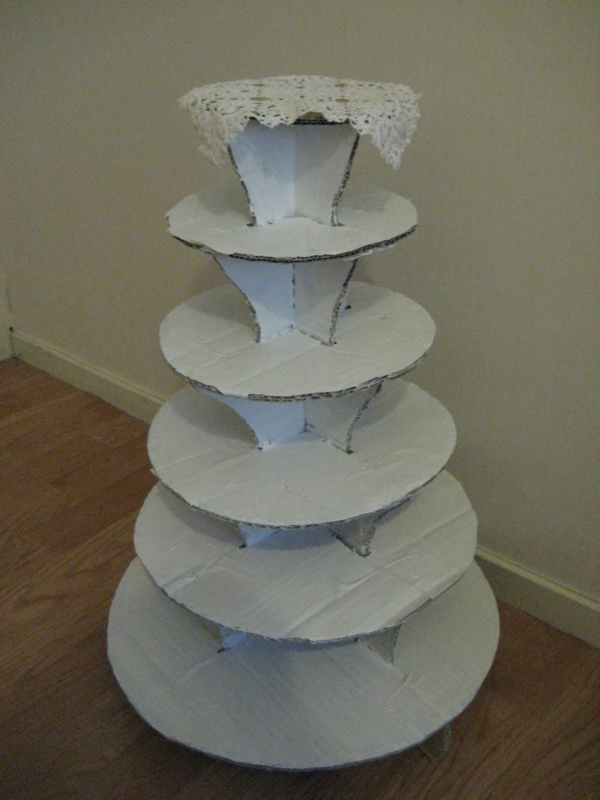 make your own cupcake wedding cake stand how to build your cupcake stands invitations ideas 17010