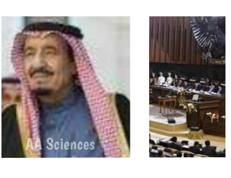 Raja Salman Hebohkan DPR