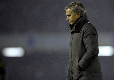 Mourinho upset after the match against Espanyol