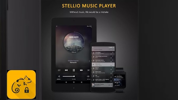 Stellio Music Player v4.10.6 APk MOD [PARCHADO]