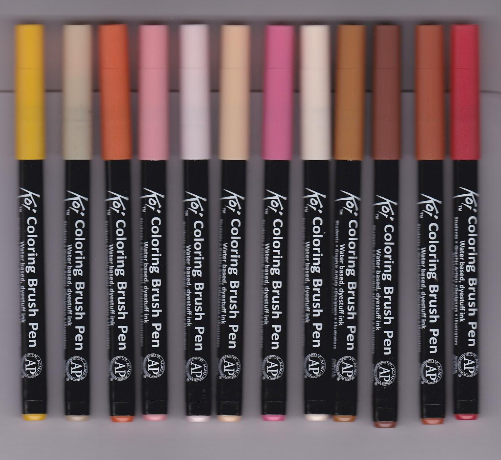 Bruynzeel koi penseel stiften van kleurboeken-winkel