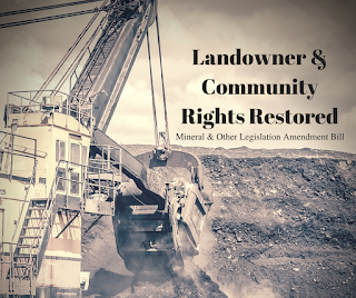 Landowner & Community Rights Restored