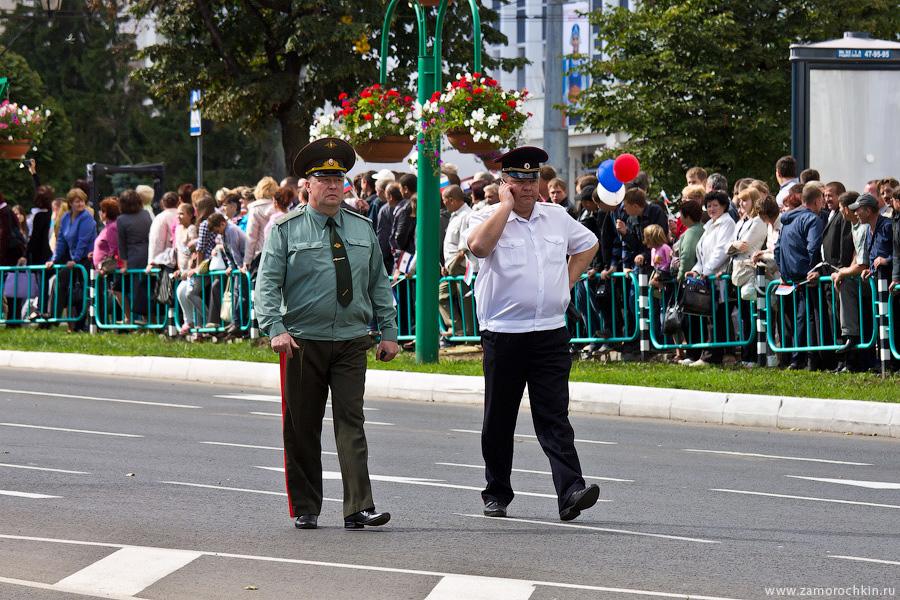 Генерал и полковник