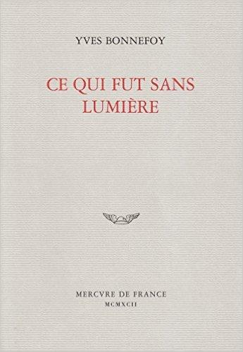 El Blog De Cee Una Lectora Yves Bonnefoy Un Adiós