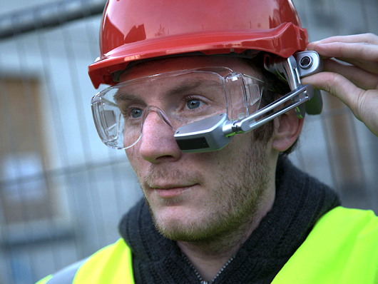 Google glasses: Transforming Construction Industry