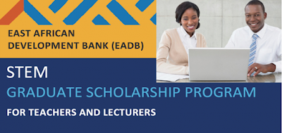 EADB 2018 STEM University Scholarship Program for Teachers and Lecturers from East African Countries