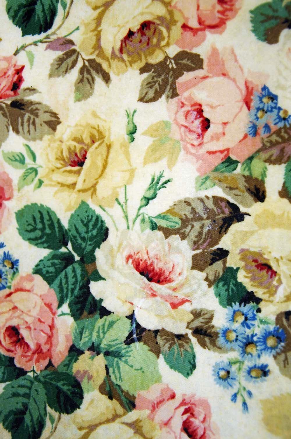Vintage Floral - VINTAGE FLORAL WALLPAPER