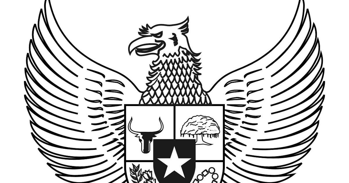 Garuda Pancasila Bw Yxzc