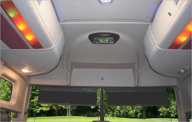 Đèn trần xe khách 47 chỗ