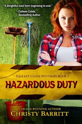 BOOK REVIEW: Hazardous Duty by Christy Barritt