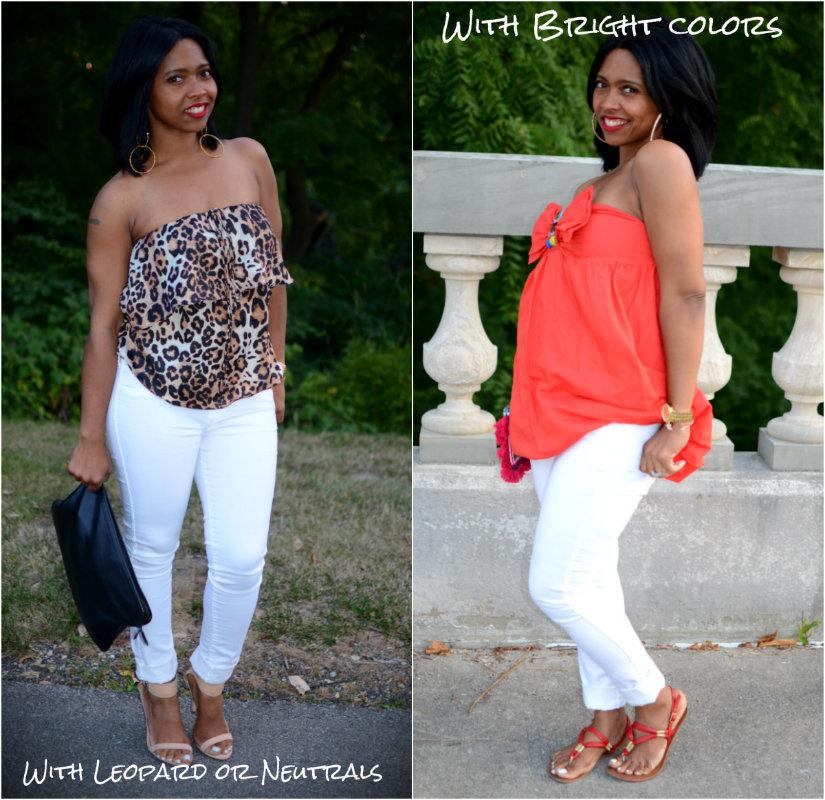 Lookbook:如何设计白色牛仔裤