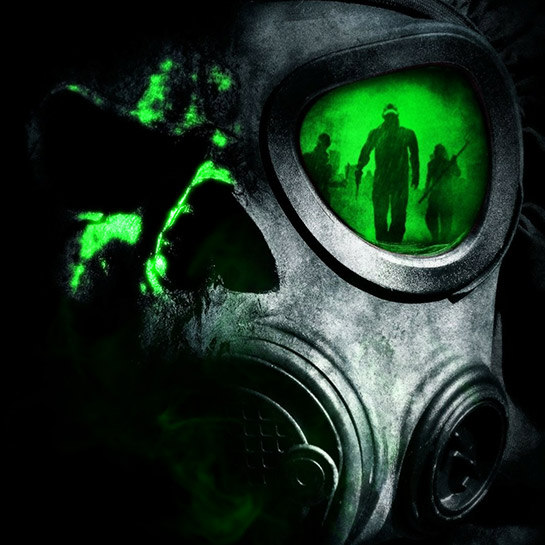 Toxic Gas Mask Wallpaper Engine