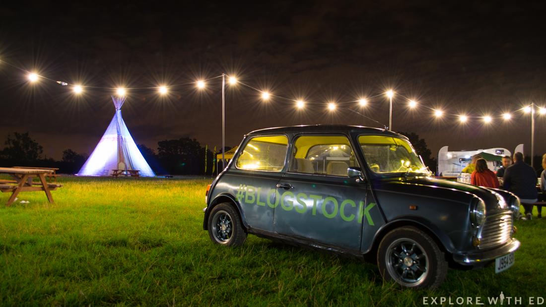 Blogstock, Tipi, Aldenham Country Park