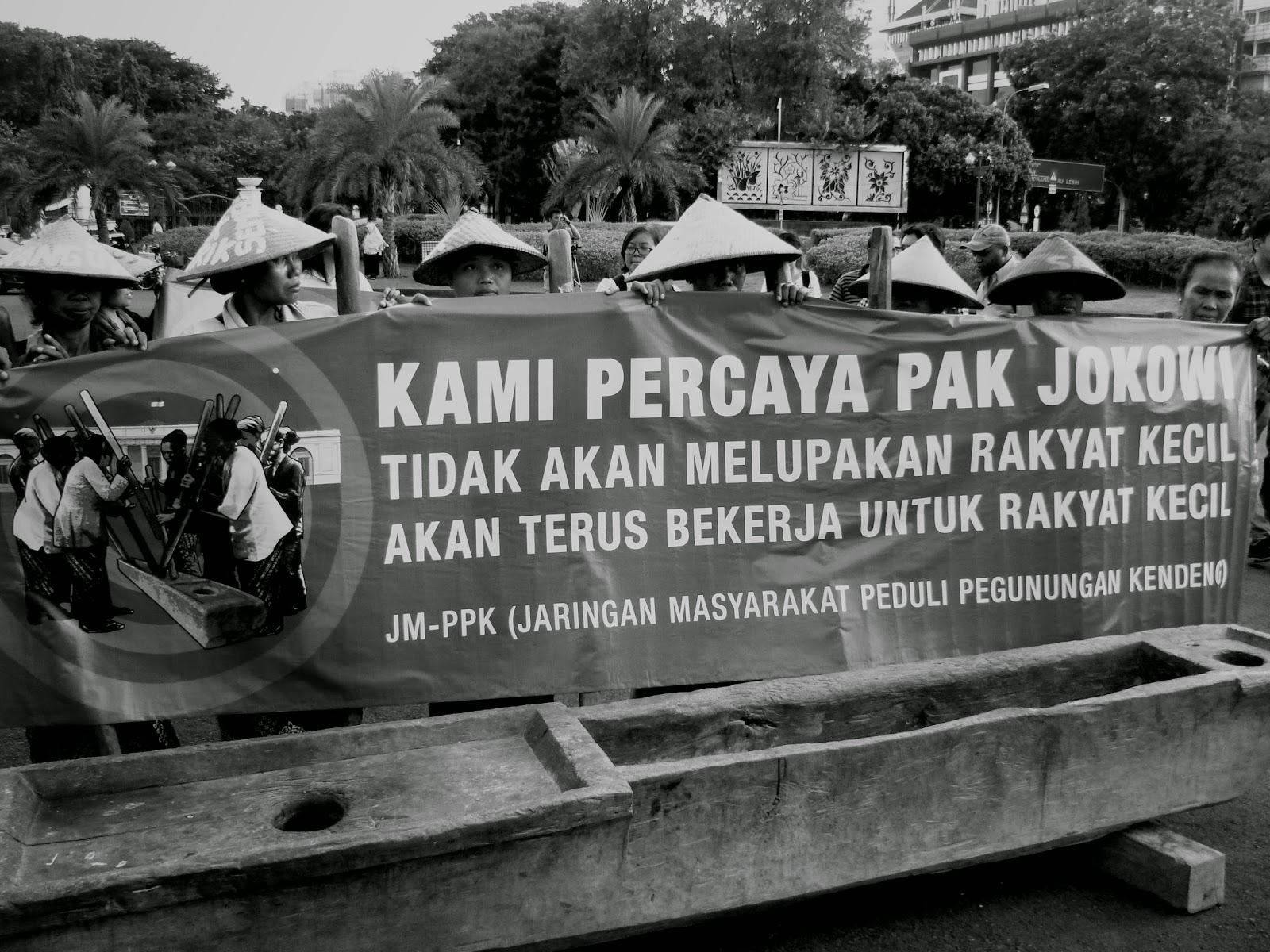 Kampanye Rupa Sketsa Sketsa Perempuan Rembang Berjuang