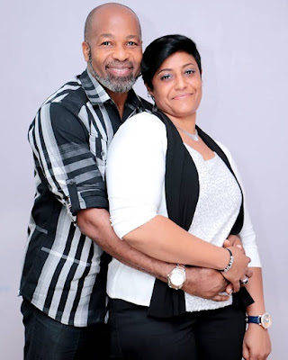 Actor Yemi Solade and wife Hannah Marsh celebrate 14th year wedding Anniversary
