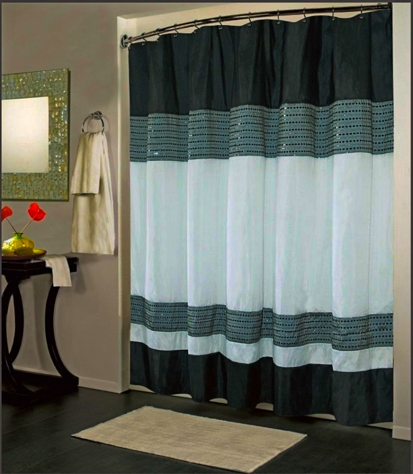 Bathroom curtains and accessories - Curtains For Bathrooms Are Also Designed To Radiate The Beauty Of Your Bathroom Bathroom Curtains Offer Various Colors And Patterns For Example