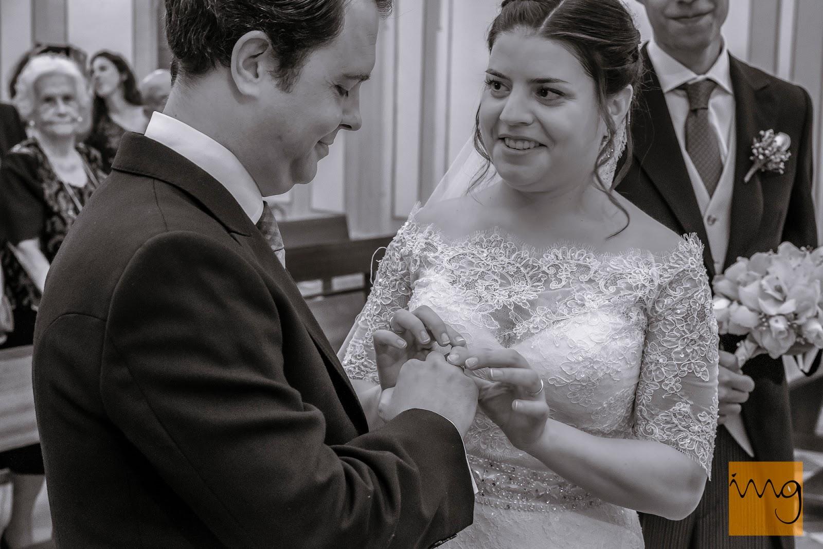 Fotografía de boda, las alianzas