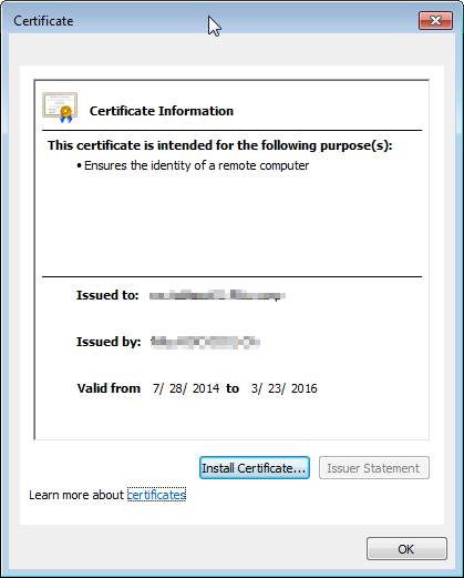Tableau Server Login Issue With Certificate Update | Vizible Difference