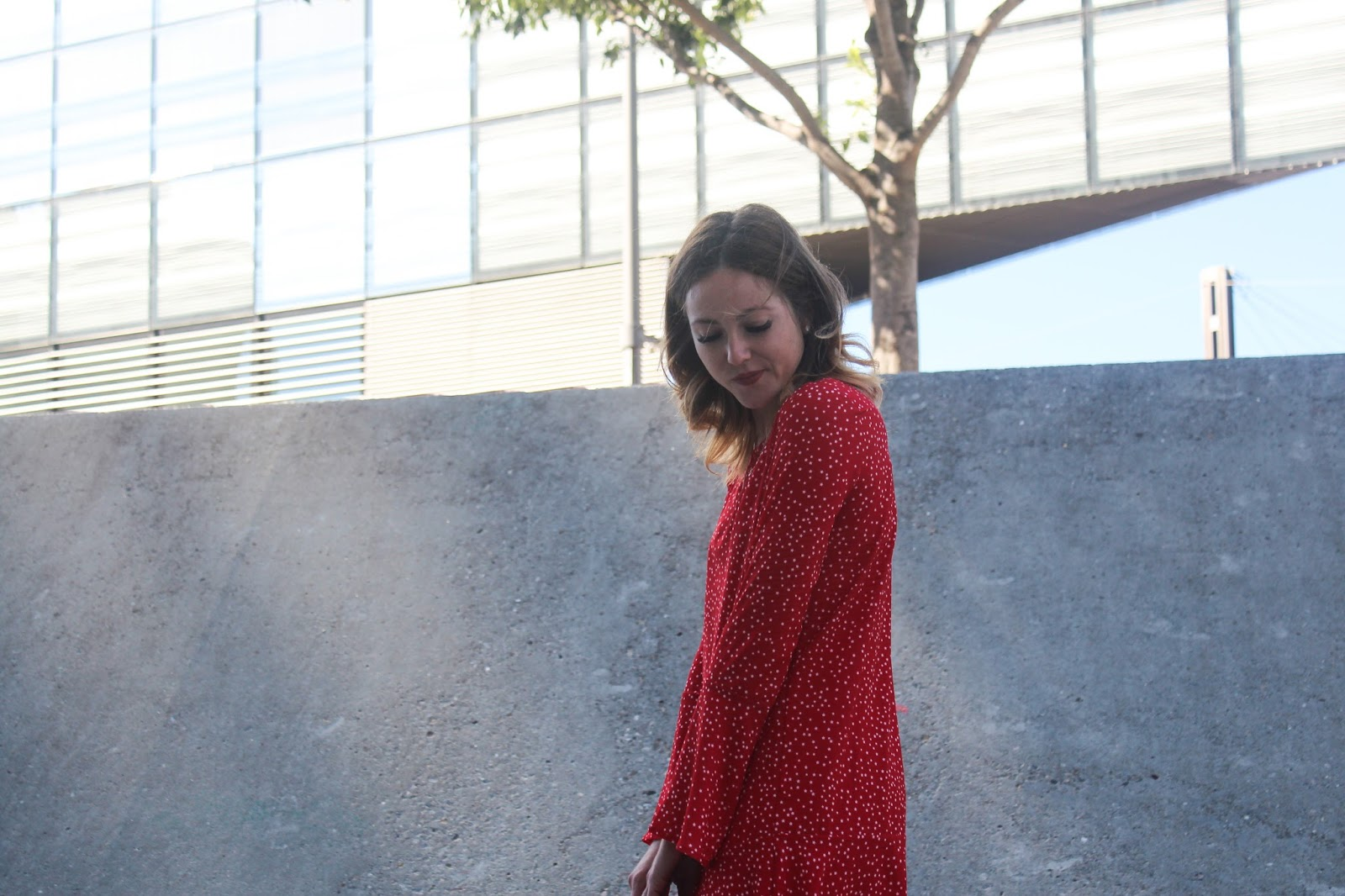 look robe rouge