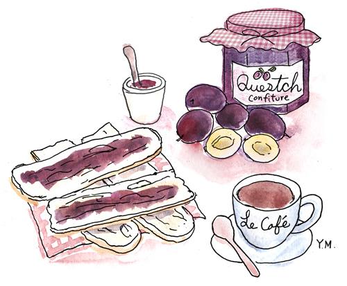 homemade jam by Yukié Matsushita