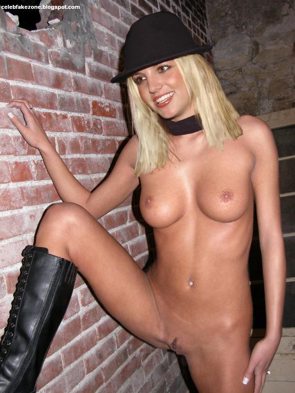 Nackt britney fake spears Britney Spears
