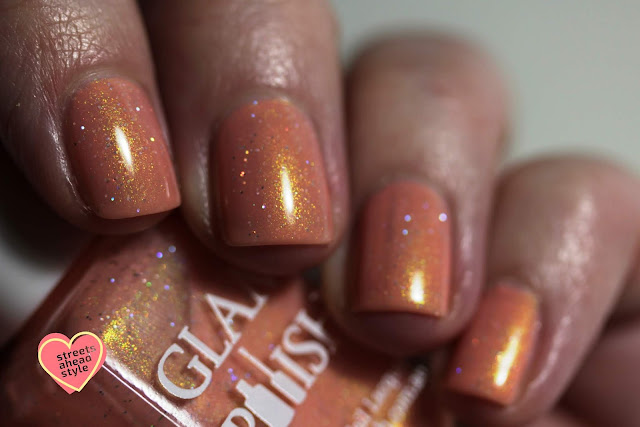 Glam Polish The Wonderful Thing About Tiggers swatch by Streets Ahead Style