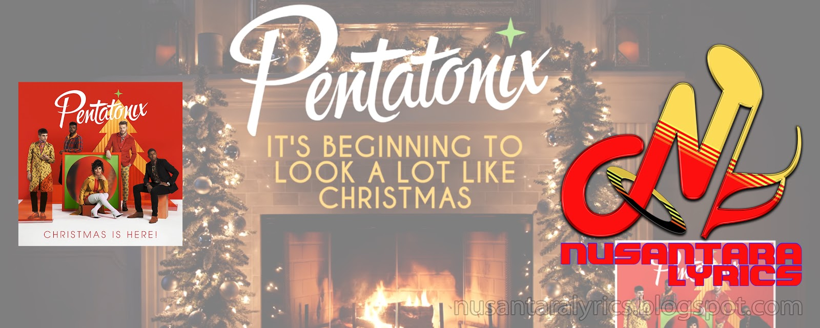 Its Beginning To Look A Lot Like Christmas Lyrics.Pentatonix It S Beginning To Look A Lot Like Christmas