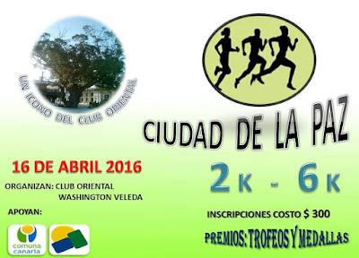 6k y 2k Ciudad de La Paz (Canelones, 16/abr/2016)
