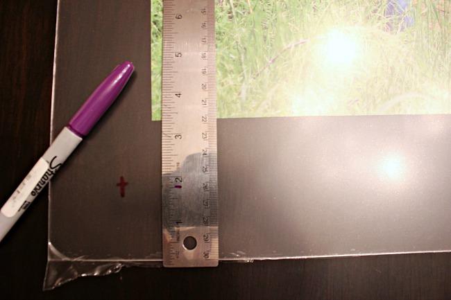 How to make an acrylic floating frame, DIY custom lucite frame