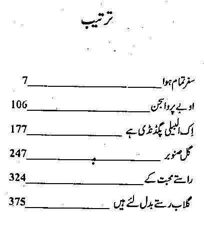 Rahat Jabeen novels