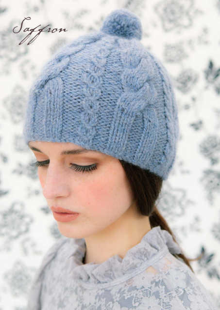 The Vintage Pattern Files: Free 1950's Knitting Pattern - Cable Hat