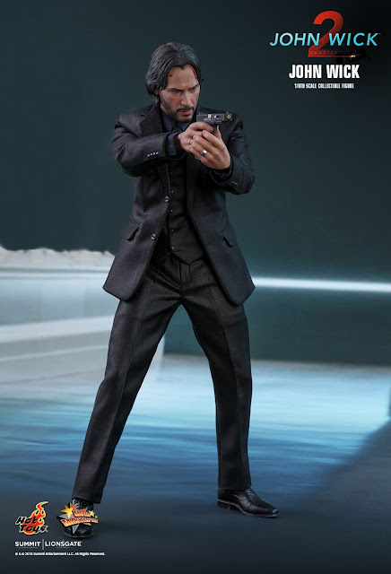 toyhaven: Hot Toys John Wick: Chapter 2 1/6th scale Keanu Reeves as