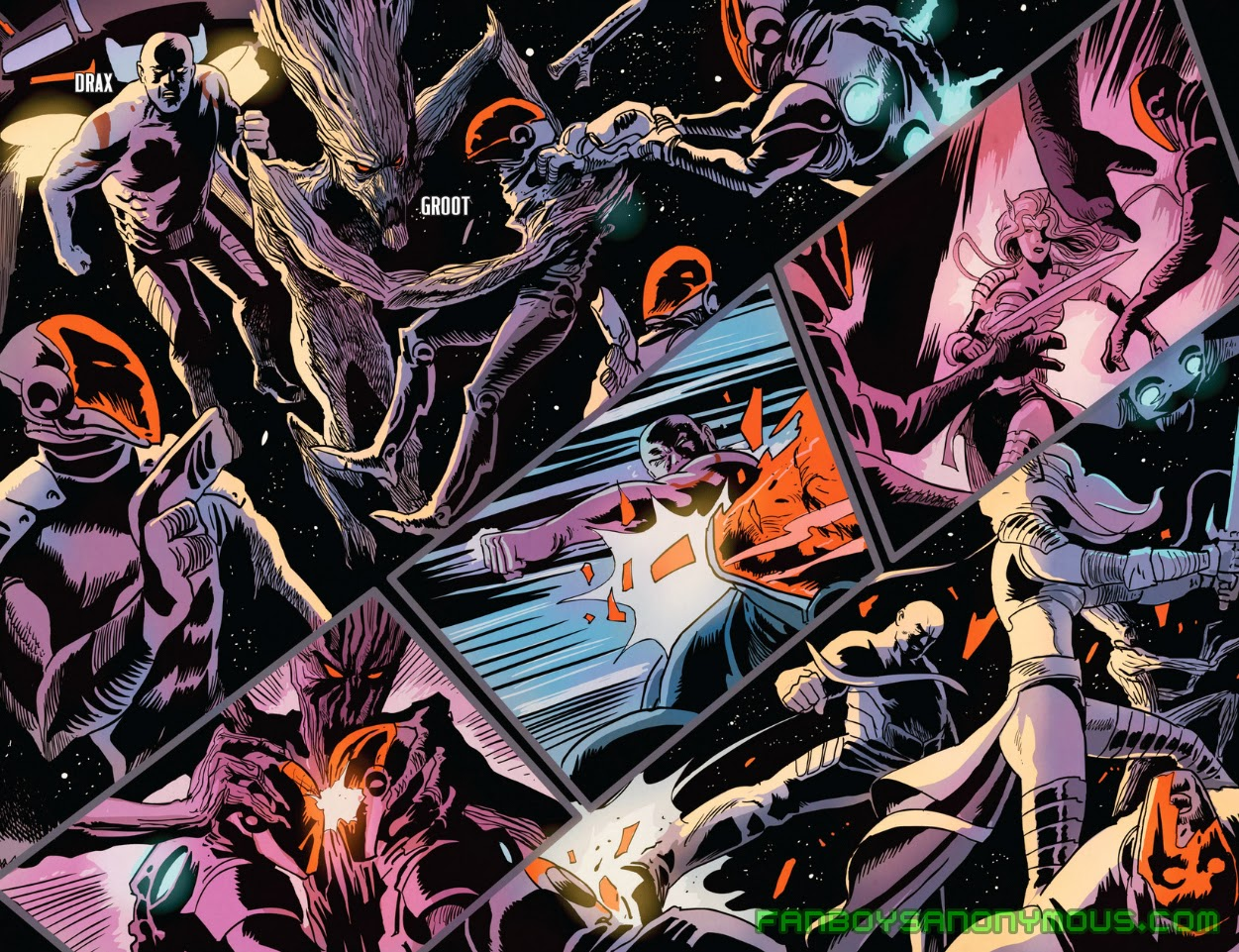 Download Guardians of the Galaxy comics on Comixology