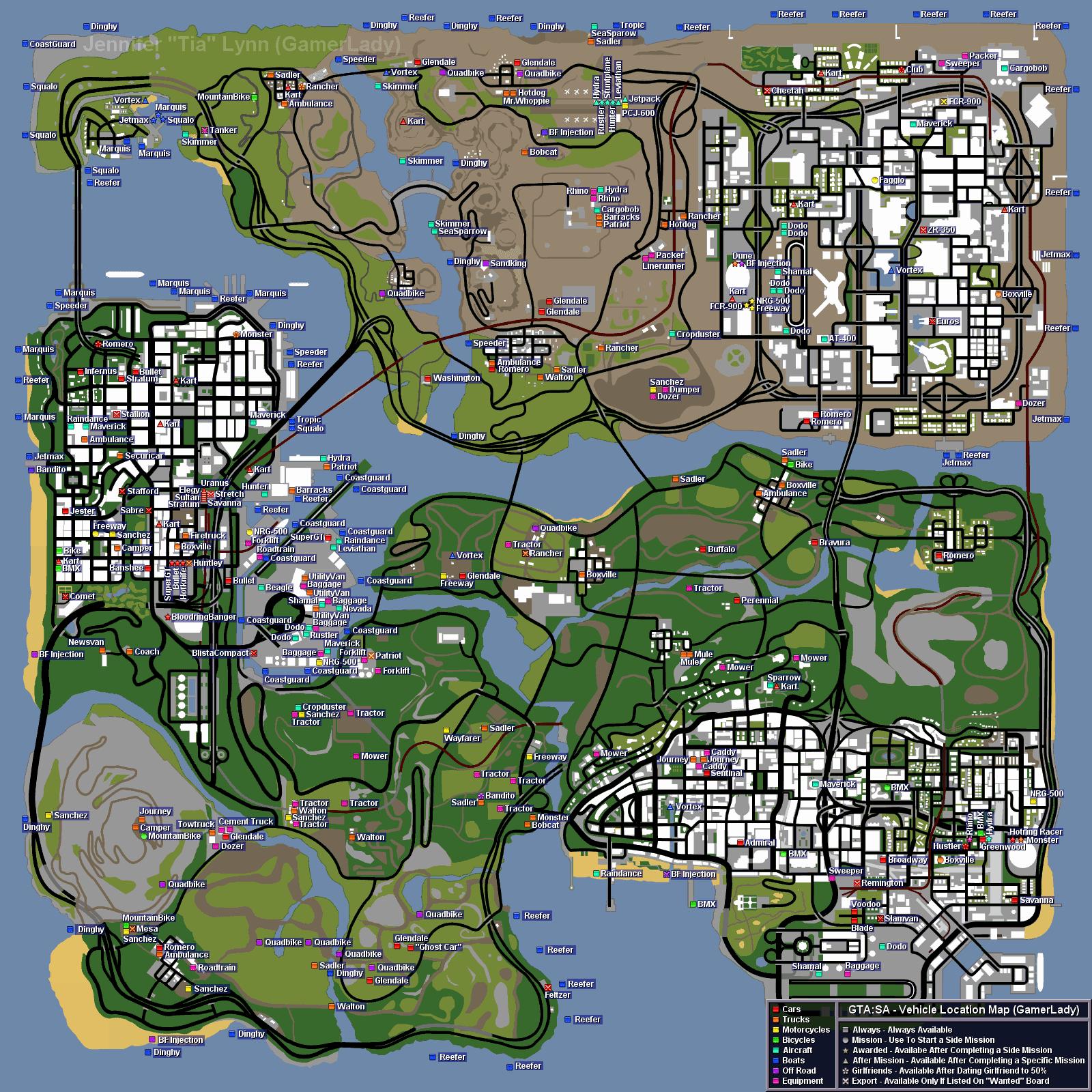 Game Rockzzz...: GTA San Andreas Secrets