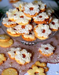 ciasteczka z marmolada, ciasteczka przekladane, dzem z gorzkich pomaranczy, swieta, cytrusy, pomarancze, konfitura pomaranczowa