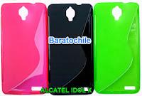 Protector Silicona Alcatel Idol X