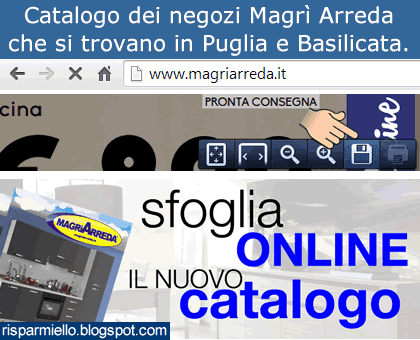 Risparmiello Catalogo negozi Magr Arreda